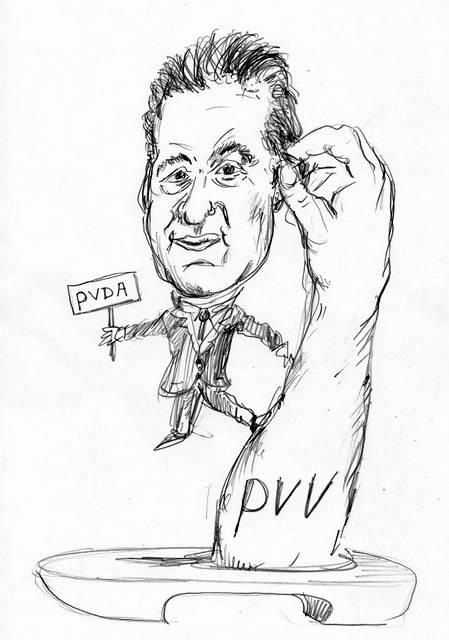 Lodewijk Asscher PVDA Cartoon