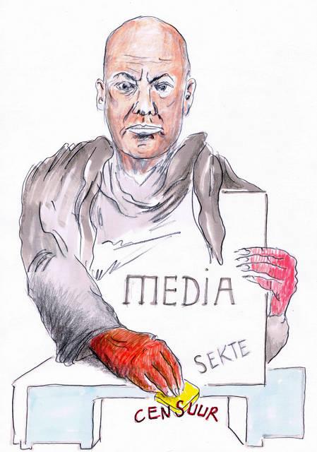Frits Wetser cartoon.