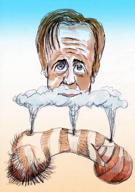 Pechtold D66 cartoon tekening
