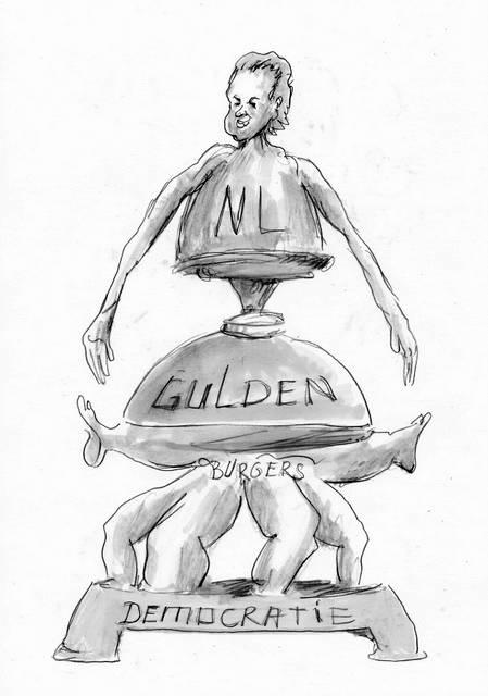 Geert Wilders PVV karikatuur