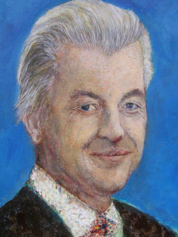 Geert Wilders portret 2D