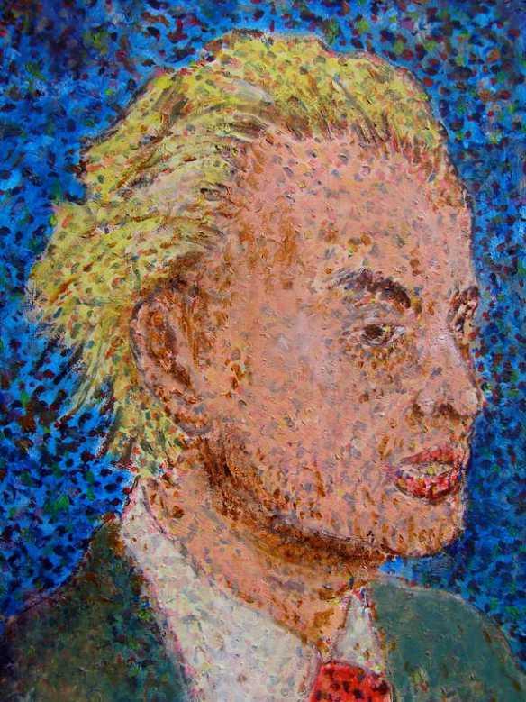 Geert Wilders PVV portret.