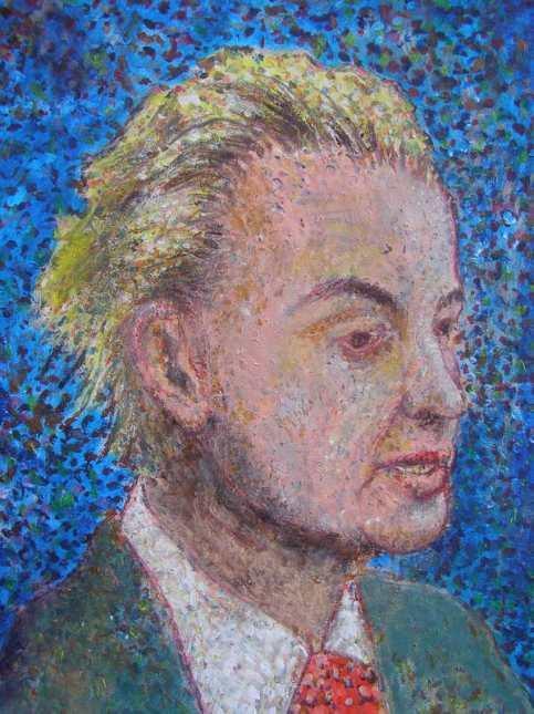 Geert Wilders PVV portret gezicht