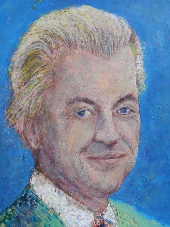 Geert Wilders portret 3C
